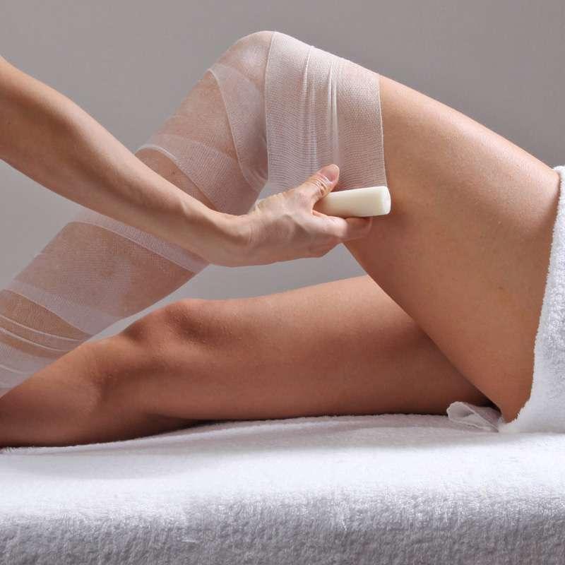 trattamento con bendaggi per combattere gli inestetismi