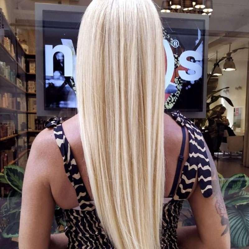 capelli biondi lunghi extention