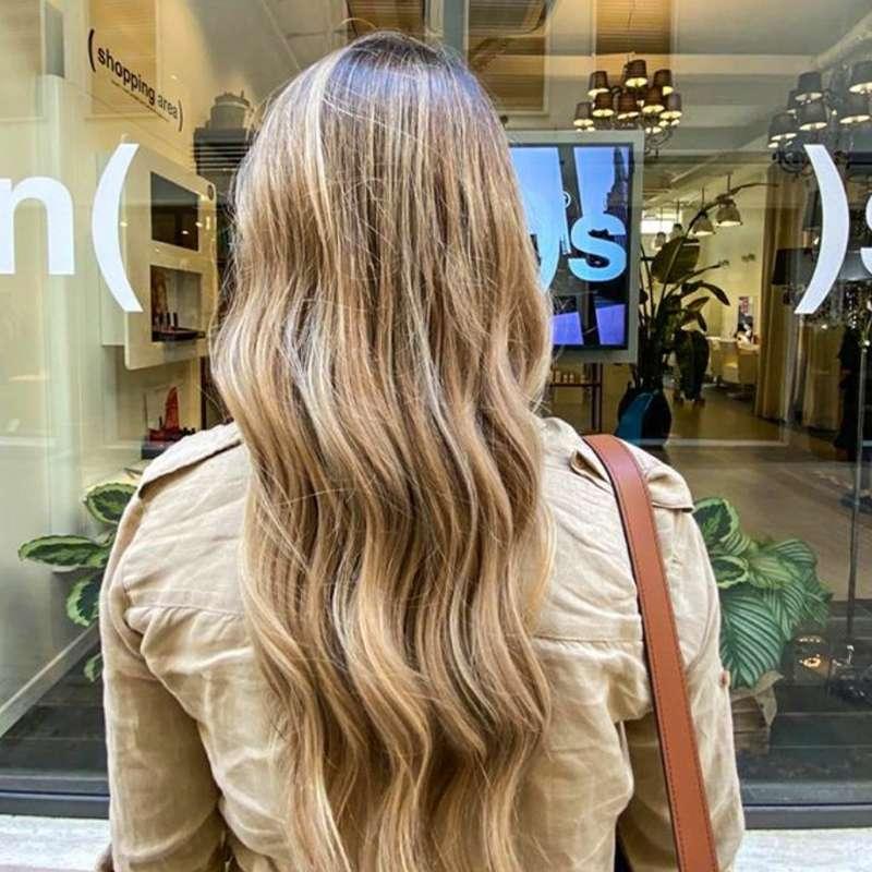balayage fatto da hair stylist professionisti a Padova