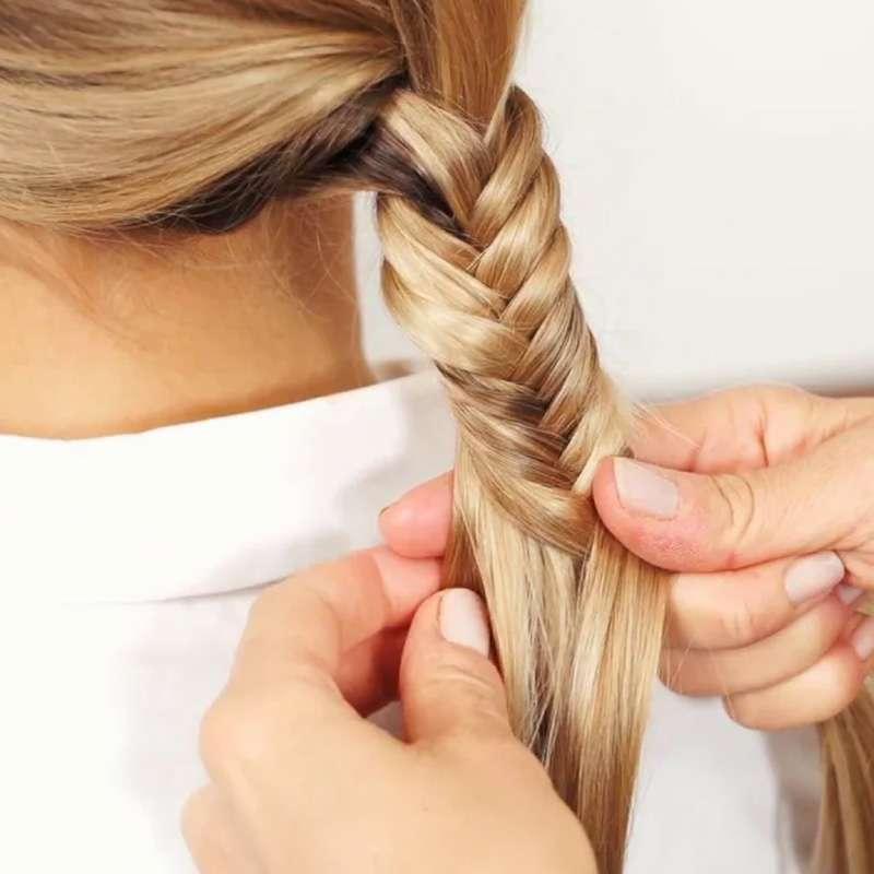 treccia di capelli da nes parrucchieri