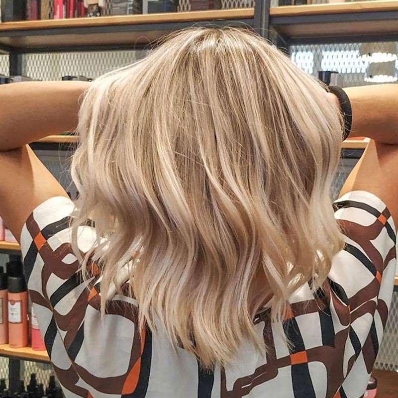 schiaritura capelli salone di parrucchieri a Padova